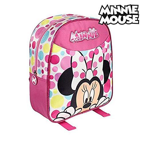 Artesanía Cerdá 2100001164 Minnie Mochila Infantil, Color Rosa