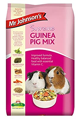 Mr Johnson's Supreme Guinea Pig Mix 900g (Pack of 6) by Mr Johnsons