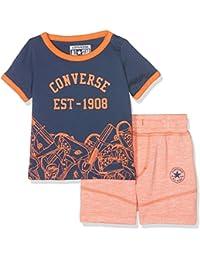 Converse Baby Boys' Sneaker Toss Tee Set T-Shirt
