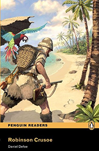 Penguin Readers 2: Robinson Crusoe Book & MP3 Pack (Pearson English Graded Readers) - 9781408278154