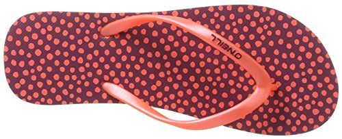 O'Neill Fw Print, Tongs femme Rot (Red Allover Print)