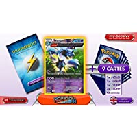 NIDOQUEEN reverse holo Alf Art 69/160 140HP XY05 PRIMAL CLASH - Optimized THUNDERBOLT booster cards - 10 English Pokemon trading cards