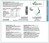 51jNMwOJFkL. SL160  - L - Carnitina Vegavero | Purezza del 99,4 % certificata |  120 capsule - da 500 mg |