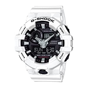 51jNNuDPV%2BL. SS300  - Casio-G-Shock-Mens-GA700-7ACR-Watch-White-Black