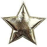 6 goldene Sterne weich Tischdeko weihnachtliche Dekoration Sterne Sterne