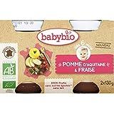 babybio Pomme fraises ( Prix unitaire ) - Envoi Rapide Et Soignée
