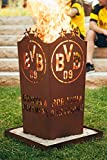 Borussia Dortmund BVB Feuerschale/Feuertonne / Feuerkorb ** Rost ** BVB-001 Vergleich