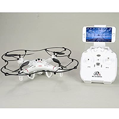 Drone 108W HD Camera - Wifi - 6 Channel - Headless Mode - Live on Screen Iphone or Android - Rotate flip
