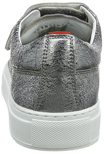 Hugo Camden Strap-l, Low Athletic Sneakers Grey (open Miscellaneous)