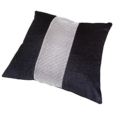 Black Diamante Cushion Cover Elcat DiamantŽ