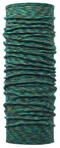 Buff Lightweight Merino Wool Multifunktionstuch, Blue Multi, One Size