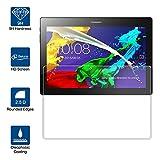 Beiuns Film Protection d'écran en Verre trempé Ultra Dur Protecteur d'écran pour Lenovo Tab 2 A10-70 (Ecran: 10,1 Pouces)
