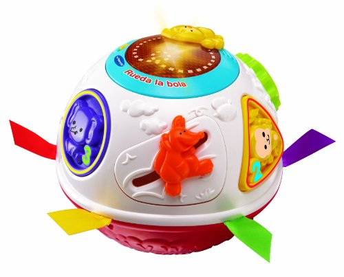 Vtech Baby - Ball wheel, baby's toy, White (3480-151522). multicoloured