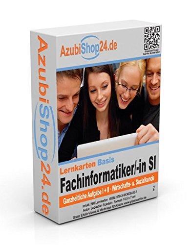 AzubiShop24.de Basis-Lernkarten Fachinformatiker / Fachinformatikerin: Erfolgreiche Prüfungsvorbereitung auf die Abschlussprüfung Systemintegration