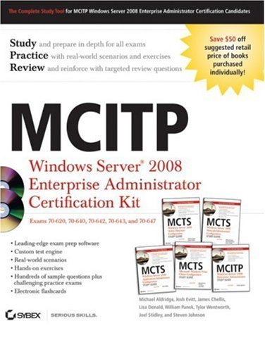 MCITP: Windows Server 2008 Enterprise Administrator Certification Kit by Michael Aldridge (2009-02-03) Pdf - ePub - Audiolivre Telecharger