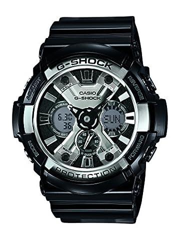 Casio Herren-Armbanduhr XL G-Shock Style Series Chronograph Quarz Resin GA-200BW-1AER