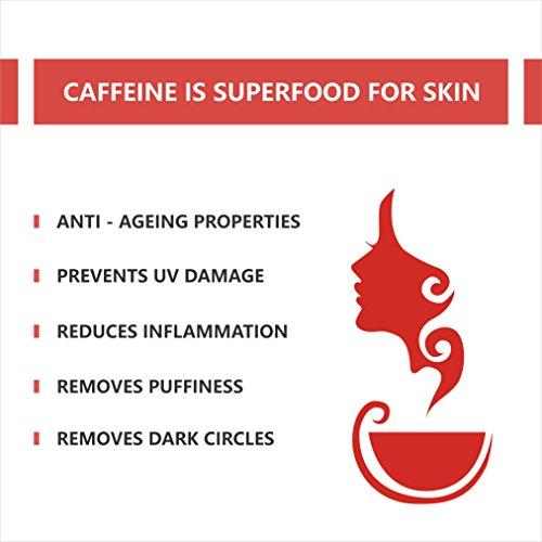 MCaffeine SPF 30+ PA++ Sea Ferns Sunscreen, 150 ml with Argan Oil and Calendula For Men & Women - Paraben Free