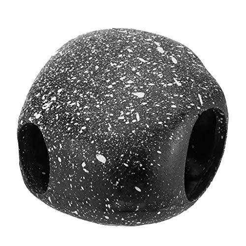 Altsommer Aquarium Stein, Aquarium Stone Dekorationen Rock Hideout, kleines Dekor für Aquarium oder Mini Bowl, am Besten für Turtle Terrarium, Betta Fischzubehör oder Goldfish House -