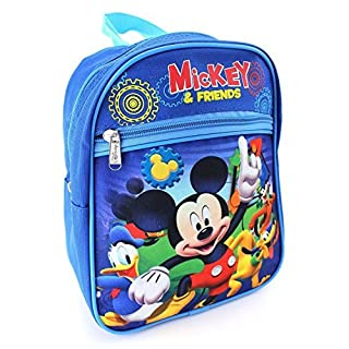 AST Toys Mickey Mouse Boys Kids Toddler Preschool Mini Backpack Baby 10