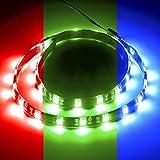 CableMod CM-LED-30-M60KRGB-RK WideBeam magnetisches RGB-LED-Set, Schwarz