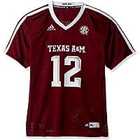 adidas Texas A&M Aggies NCAA #12 Youth Replica Maroon Football Jersey