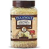 Daawat Brown Basmati Rice, 1kg Jar