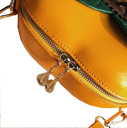 Fabelhaft Neue Persimmon Stil Schultertasche Mode Hit Farbe Messenger Bag Red