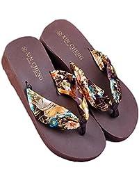 Amazon.it  pantofole con tacco - Infradito e ciabatte da spiaggia ... 397d4e674dc