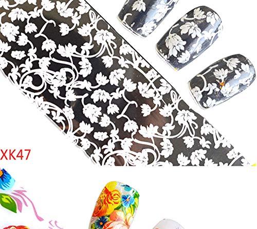 LCFCJK Nagel-Aufkleber Kosmische Stern Aufkleber Nagel Dekoration Applique DIY Dekoration Werkzeug Kunst Design Wasserzeichen Nail Sticker (10 Fotos), A1