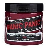 Vampiro rojo Manic Panic vegano 4 Oz tinte de pelo de color