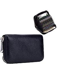 ee3cacc5b Tarjetero RFID Cartera RFID Card Holder, Cepillo antirrobo, Se Utiliza para  Almacenar Tarjetas De Crédito, Cambio,…