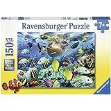 Ravensburger - 10009 - Puzzle Enfant Classique Monde sous-marin - 150 Pièces XXL