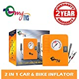 #5: myTVS 2-in-1 Car & Bike Tyre Inflator (2Yr Warranty)…