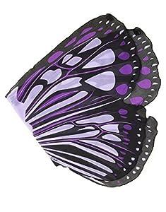 DREAMY DRESS-UPS 50557Ráfaga de Morado Mariposa alas para niña (Talla única)