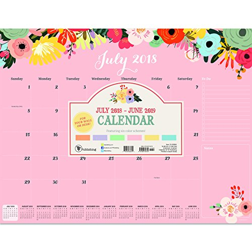 Read Floral 2018 2019 Calendar Online Book By TF Publishing Full Supports All Version Of Your Device Includes PDF EPub And Kindle