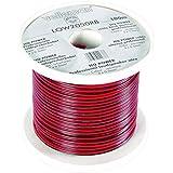 Velleman LOW2050RB/C Câble Haut-Parleur Cca - 2 X 0.50mm² - Rouge/Noir - Bobine : 100M