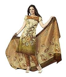 Vatsla Enterprise Women's Cotton Salwar Suit Dress Material (ABS808__Multi Colour_Free Size)