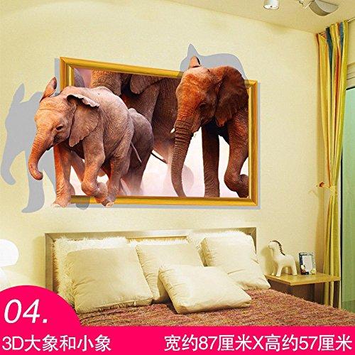 S.Twl.E Adhesivos de pared arte mural decoración impermeable extraíble para montaje en...