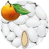 EinsSein 500g Hochzeitsmandeln Orange Schokomandeln griechisch Hochzeit Zuckermandeln Schokomandeln Bonboniere Bonbons Schokotafeln ohne organzasäckchen Dragees Taufe Taufmandeln kg 500g schoko