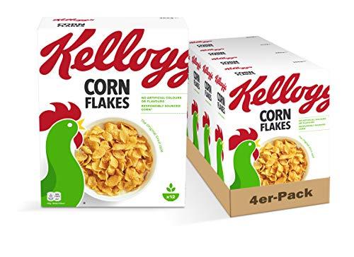 Kellogg Corn Flakes, 4er Pack (4 x 360 g)