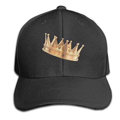 Osmykqe King Queen Unisex Sommer Sonnenhut einstellbar lässig Golf Tennis Caps