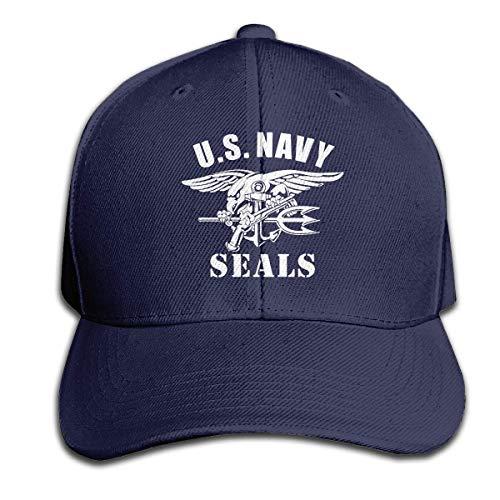 Herren-Baseballmütze Trucker Hat Dad Cap Plain Cap ()