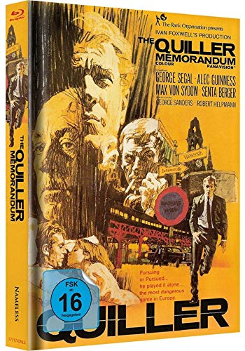 Das Quiller Memorandum - Mediabook (orange) LTD [Blu-ray]