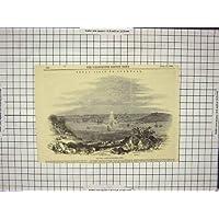 1846 CASTELLO REALE CORNOVAGLIA INGHILTERRA DEGLI YACHT (Castello Pendennis)