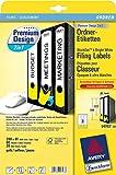 Avery Zweckform Premium Ordnerrücken-Etiketten, lang/breit, 61 x 288 mm, gelb