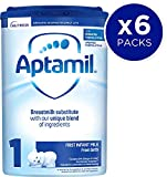 Aptamil First Infant Milk Stage 1 from Birth, 800 g, Pack of 6