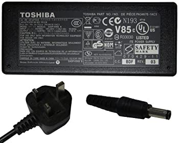 Toshiba 19v 3.95a 75w Pa-1750-09 Pa-1750-04 Pa3468e-1ac3 Pa3432u-1aca Laptop Ac Adapter Charger Power Cord 1