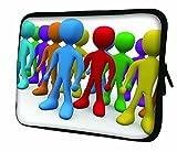 LUXBURG® 17,3 Zoll Notebooktasche Laptoptasche Tasche aus