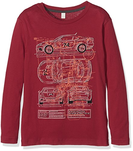 Esprit Kids Baby - Jungen Sweatshirt, RI1014G, Gr. Small, Rot (RED 630)