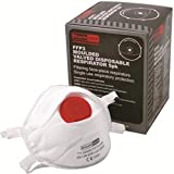 Baratec Disposable Work Dust Masks Coned Moulded Valved FFP3 Respirator Box of 5 Masks